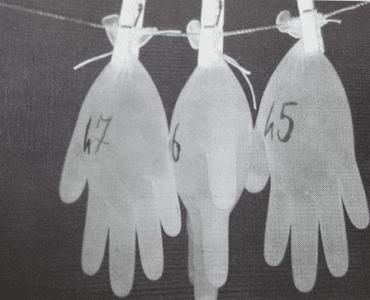valutazione permeabilità dei guanti Prof. Checchi